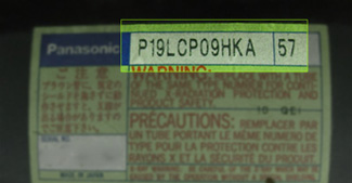 Panasonic P number: P19LCP09HKA